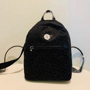 Tommy Hilfiger Mini Black Backpack/OS/NWT